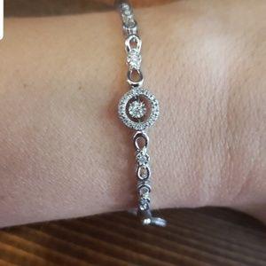 Kay's open heart bracelet